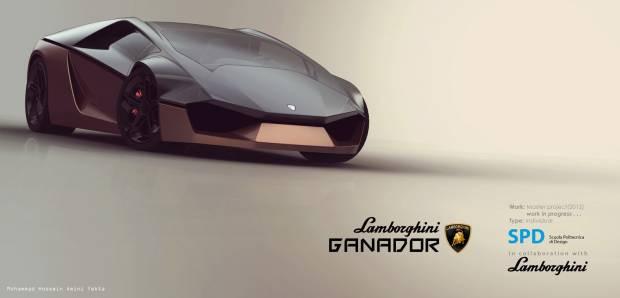 Muhteşem tasarımıyla Lamborghini Ganador geliyor! - Page 1