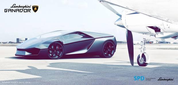 Muhteşem tasarımıyla Lamborghini Ganador geliyor! - Page 3