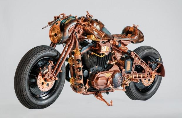 Müzik aletlerinden esinlenerek yapılan  Harley rocks Kraków - Page 3