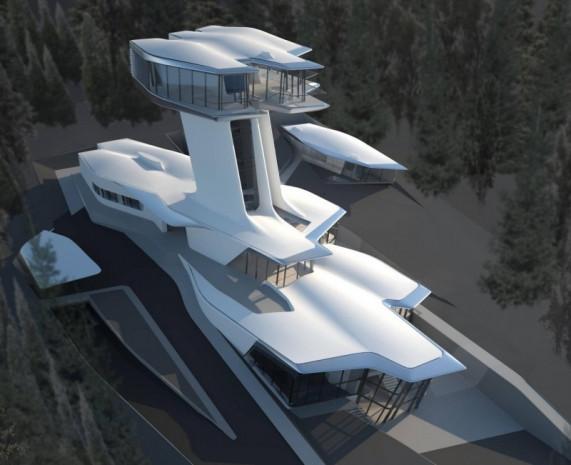 Naomi Campbell'in uzay mekiği evi! - Page 1