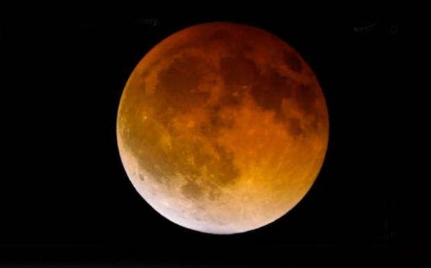 NASA, Kanlı Ay tutulmasını canlı yayınladı! - Page 4