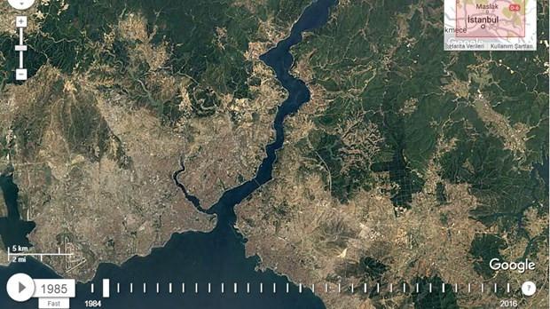 NASA uzaydan çekilen İstanbul fotoğraflarını paylaştı - Page 1