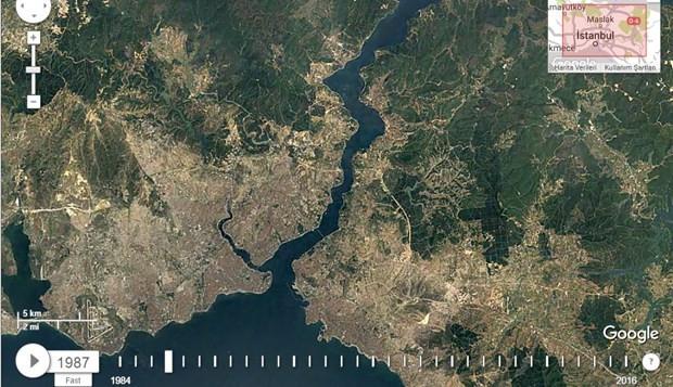 NASA uzaydan çekilen İstanbul fotoğraflarını paylaştı - Page 3