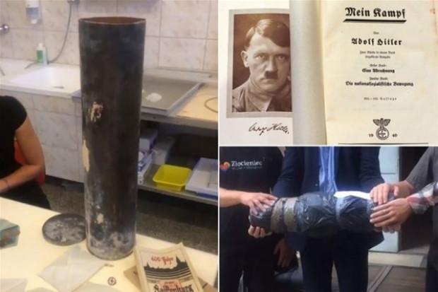 Nazilerin 'zaman kapsülü' bulundu, bakın içinde ne var? - Page 1