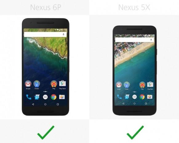 Nexus 5X ve Nexus 6P karşılaştırma - Page 1