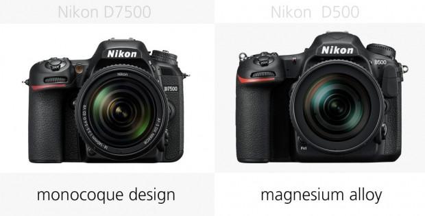 Nikon D7500 ve Nikon D500 karşılaştırıldı - Page 1