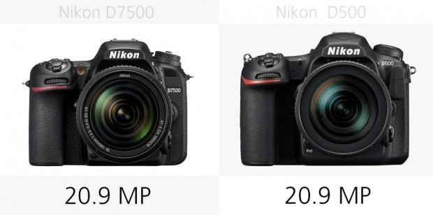 Nikon D7500 ve Nikon D500 karşılaştırıldı - Page 3