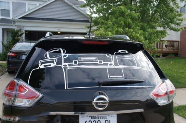 Nissan Akıllı dikiz aynası yaptı! - Page 3