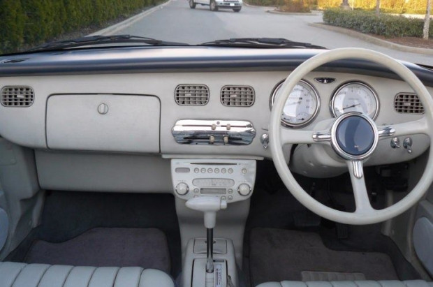 Nissan Figaro'nun çok farklı bir özelliği var - Page 1