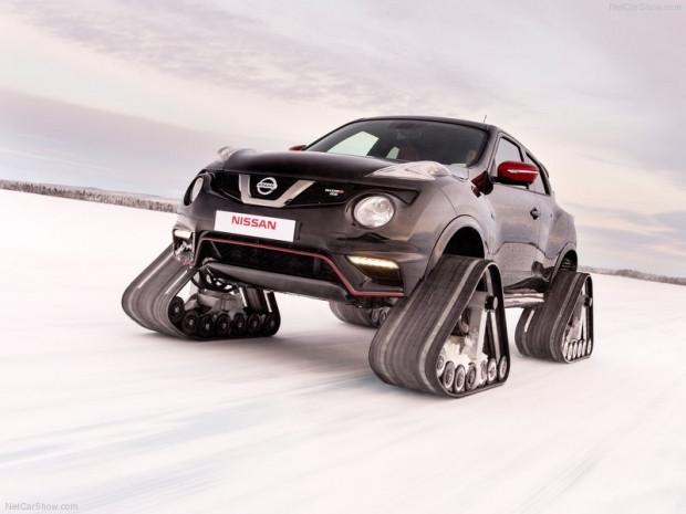 Nissan Juke Nismo RSnow konsept - Page 1