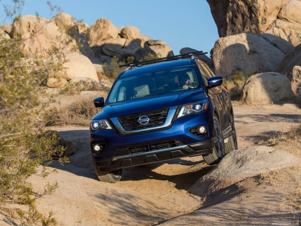 Nissan Pathfinder 2017 - Page 1