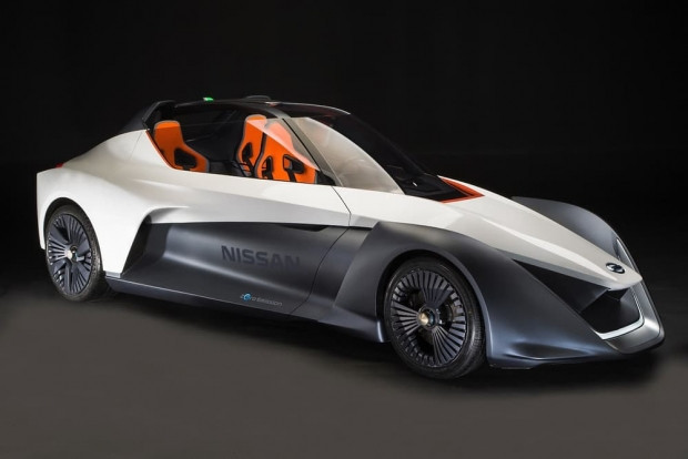 Nissan'ın elektrikli araç konsepti BladeGlider - Page 1