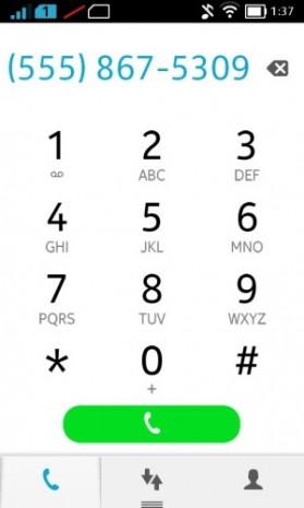 Nokia X'in Android ekran görüntüleri - Page 1