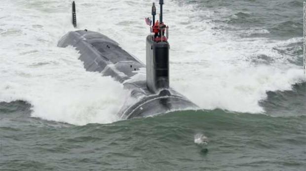 Nükleer enerji ile çalışan 102 metre uzunluğundaki John Warner denize indi - Page 2