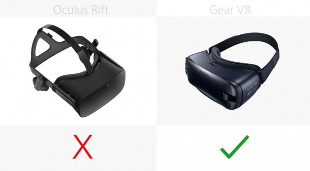 Oculus Rift ve 2016 Gear VR karşılaştırma - Page 1