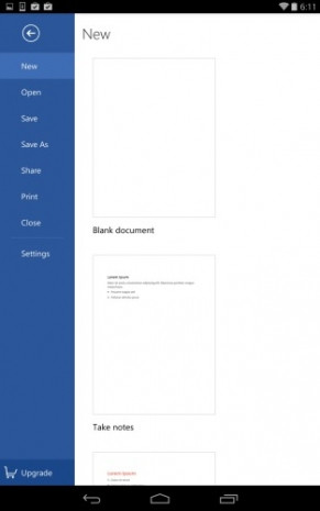 Office Android ekran görüntüleri - Page 1