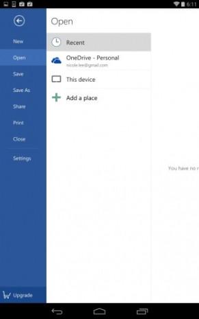 Office Android ekran görüntüleri - Page 2