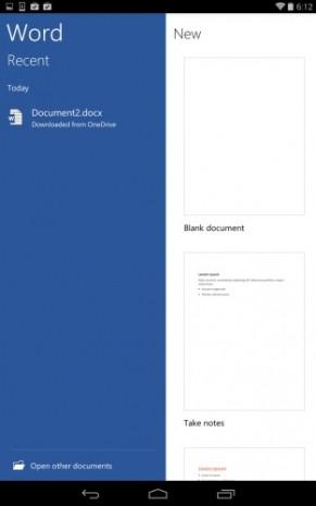 Office Android ekran görüntüleri - Page 4