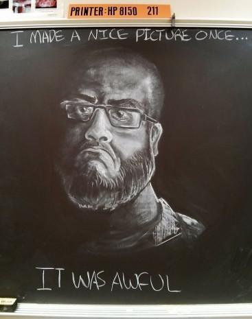 Öğrencilerini her gün tahtaya çizdiği farklı resimlerle karşılayan bir öğretmenin 7 çalışması - Page 2