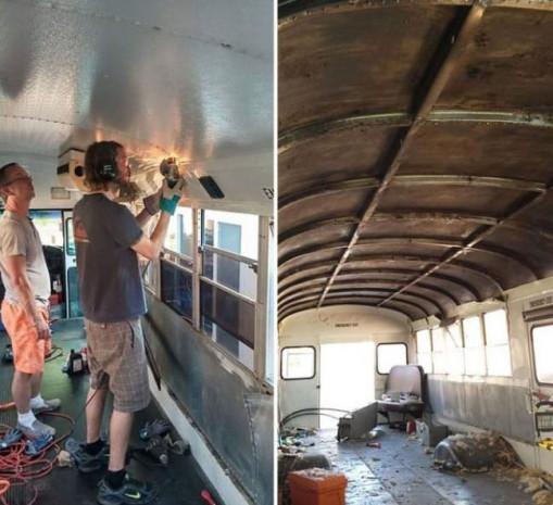 Okul otobüsü eve dönüştü - Page 2