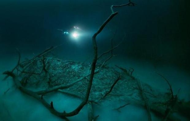 Okyanusun altından akan nehir şaşırtıyor! - Page 1
