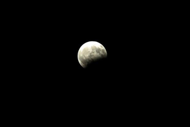 Önemli doğa olaylarından kısmi Ay tutulması gerçekleşti - Page 1