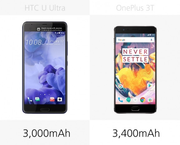 OnePlus 3T ve Ultra HTC U karşılaştırma - Page 1