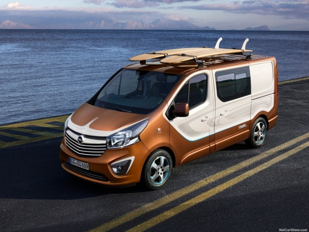 Opel Vivaro Surf Concept (2015) - Page 1