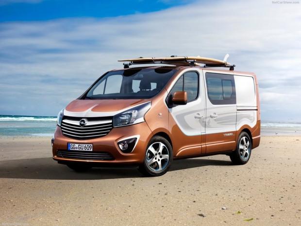 Opel Vivaro Surf Concept (2015) - Page 2