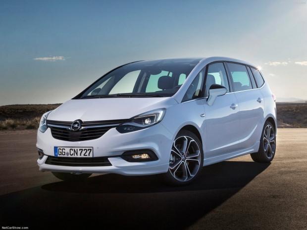 Opel Zafira 2017 için yenilendi - Page 4
