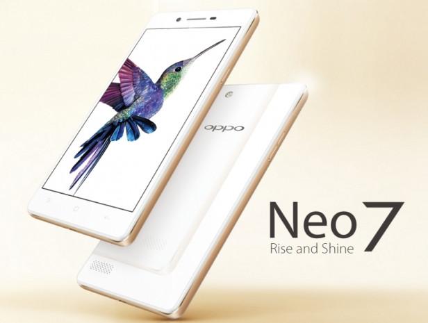 Oppo Neo 7 resmen açıklandı - Page 1