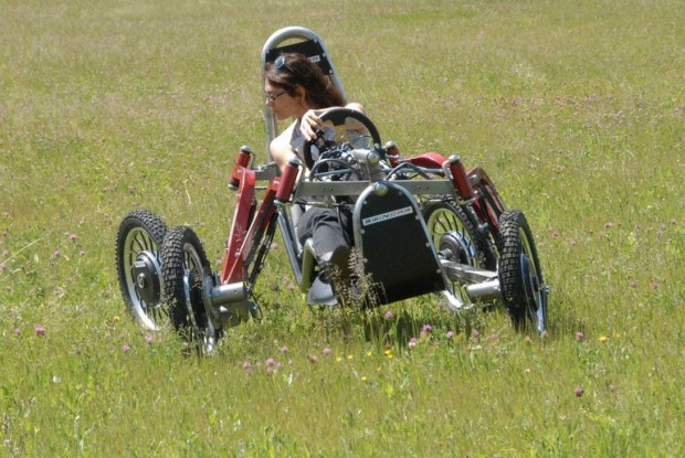 Örümcek bacaklarına sahip arazi aracı Swincar! - Page 2