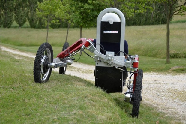 Örümcek bacaklarına sahip arazi aracı Swincar! - Page 4