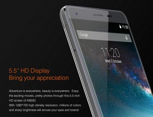 Oukitel K6000 dev bataryasıyla diğer telefonları da şarj ediyor! - Page 1