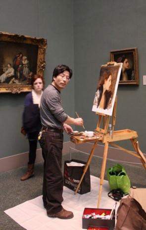 Öyle bir tablo yaptı ki mercekle bakılıyor - Page 1