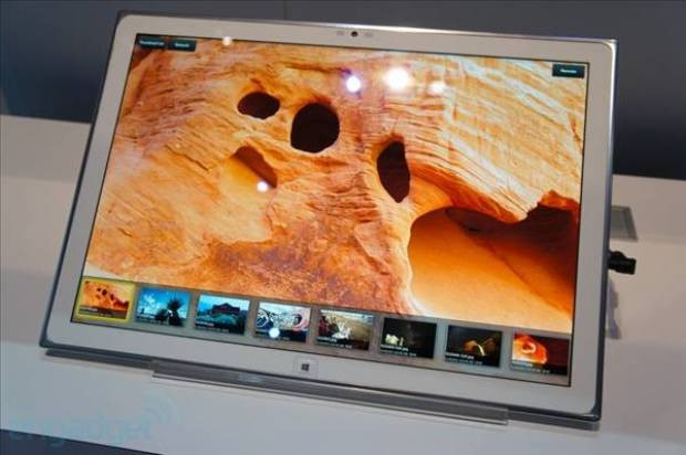 Panasonic'in 20 inçlik WP8 tablet prototipi CES 2013'te - Page 1