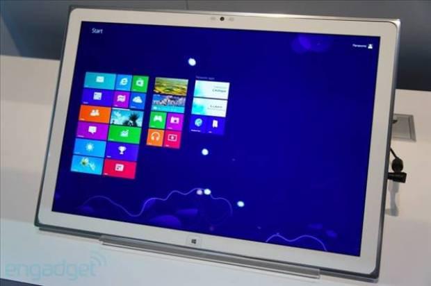 Panasonic'in 20 inçlik WP8 tablet prototipi CES 2013'te - Page 3
