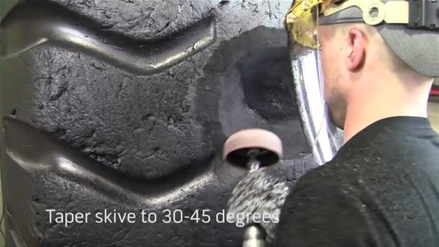 Patlayan dev lastikler nasıl tamir ediliyor? - Page 4