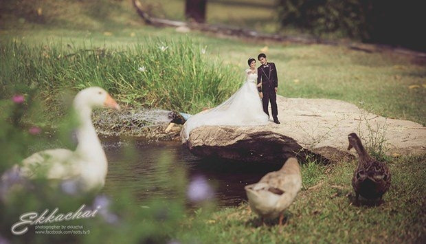 Paylaşım rekorları kıran ezber bozan düğün fotoğrafları - Page 2