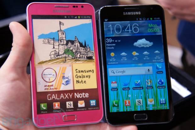 Pembe Galaxy Note S II - Page 1