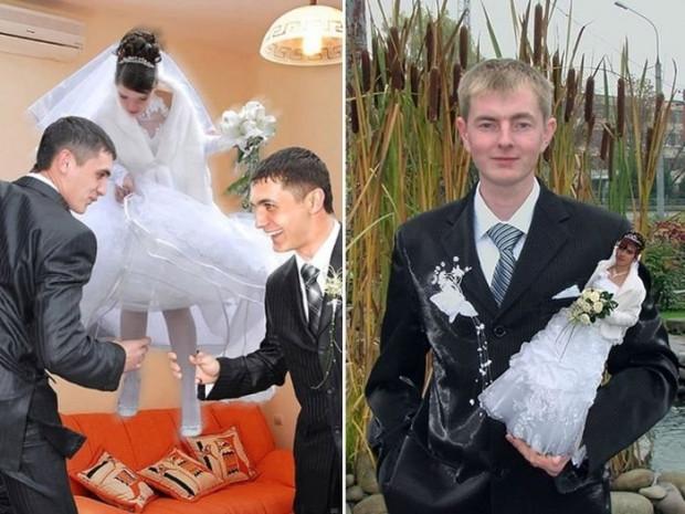 Photoshop sayesinde rezalete dönen düğün fotoğrafları! - Page 1