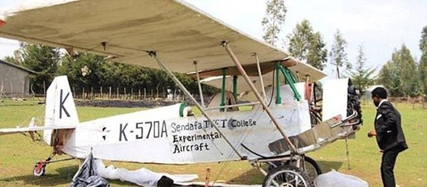 Pilotluk sınavını geçemeyince kendi uçağını yaptı - Page 1