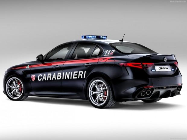 Polislere özel Alfa Romeo Guilia QV - Page 3