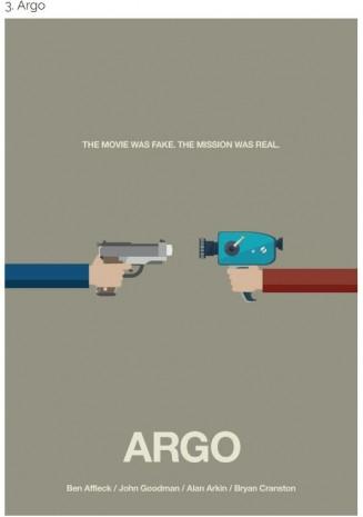 Popüler filmlerin sanatsal afişleri - Page 1