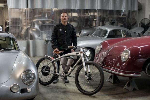 Porsche 356'dan esinlenip bisiklet ürettiler! - Page 2