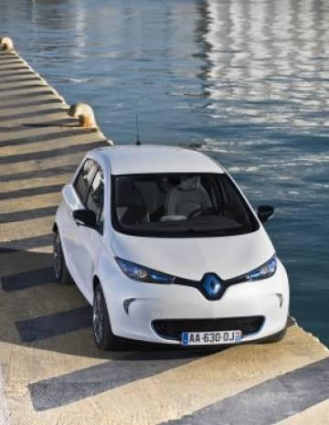 Renault ZOE,görüntüsüyle göz dolduruyor - Page 1