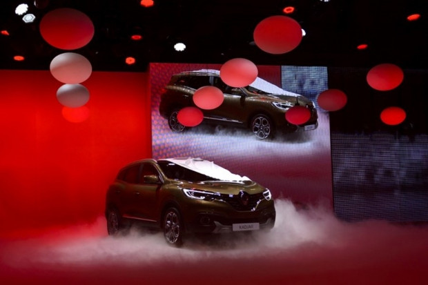 Renault'nun yeni 'crossover'ı Cenevre'de - Page 1
