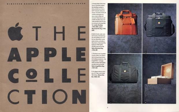Resimlerde Apple'ın 1980'lerde giyim kataloğu - Page 1
