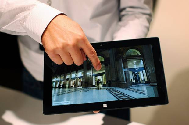 Resimlerle Microsoft Surface Windows 8 tabletler - Page 1
