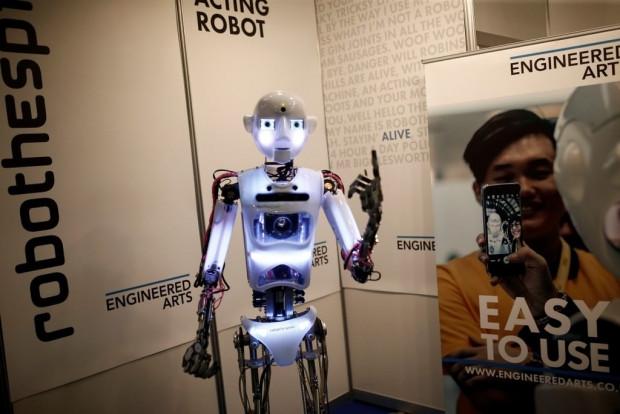 Robotlar Global Robot Expo'da görücüye çıktıBu - Page 3